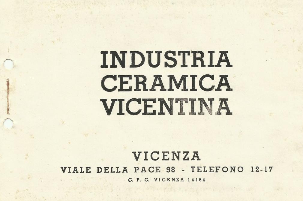 Ceramica Cecchetto Di Nove.Profilo Storico Industria Ceramica Vicentina