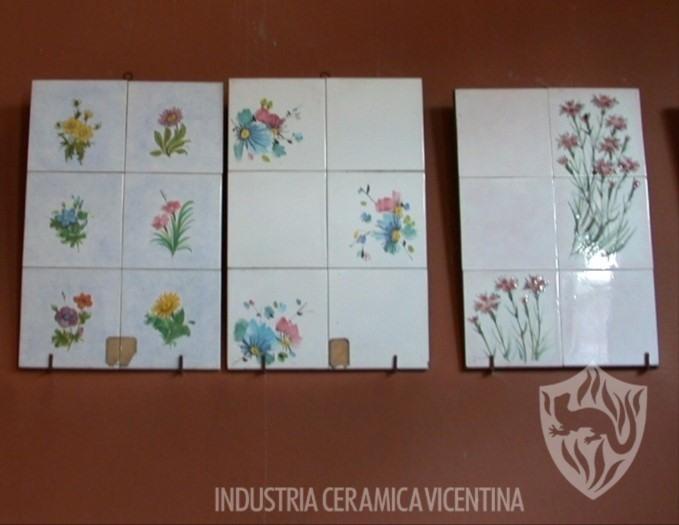 Piastrelle adesivo piastrelle immagine bouquet con tulipani