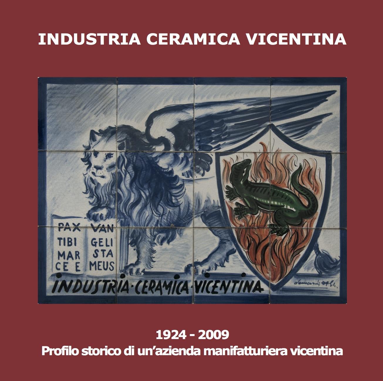 Profilo storico industria ceramica vicentina for Libro in ceramica